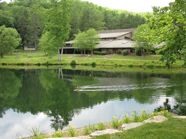 The Brevard Music Center in Brevard, North Carolina, May 21, 2012. Image from Flickr user jenlrile.