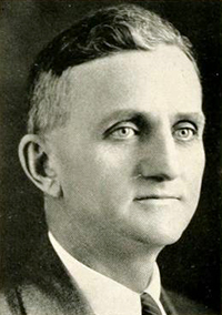 UNC-CH professor Edward James Woodhouse, 1936. Image from Digital NC.