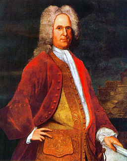 Portrait of Governor Alexander Spotswood of Virginia by Charles Bridges, 1736. Image from Wikimedia Commons.