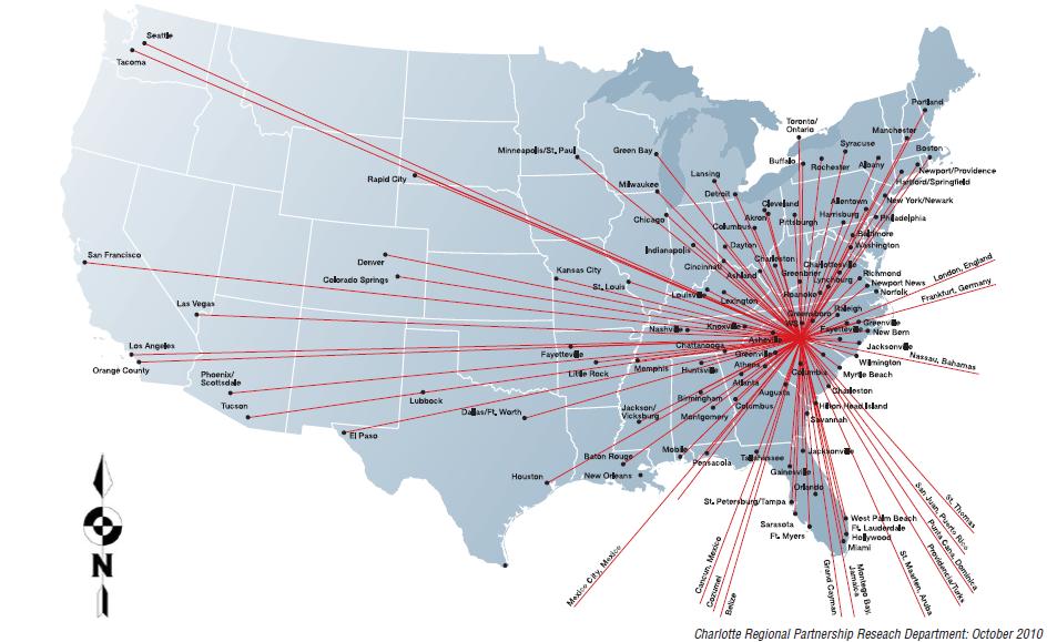 charlotte airport terminal map pdf