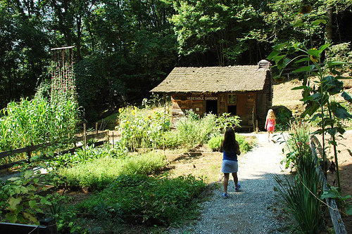Part of the Cherokee Botanical Gardens, 2007. Image from Flickr user Flatbush Gardener/ Chris Kreussling.