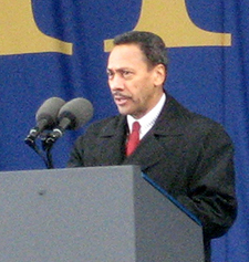 U.S. Representative Melvin Watts, 2006. Image from Flickr user Mark Blacknell.