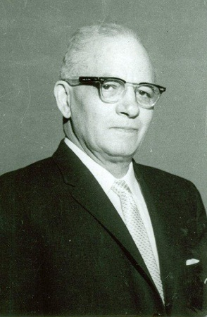 Photograph of Alfonso Elder during his tenure as president of North Carolina College