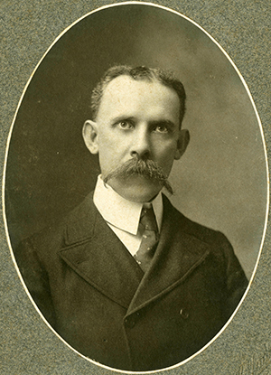 Francis Preston Venable, founder of the Elisha Mitchell Scientific Society. Image from the University of North Carolina at Chapel Hill Libraries.