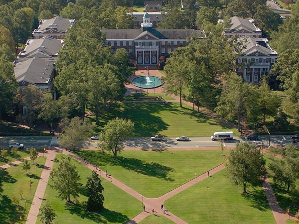 Elon University. Image courtesy of NC Office of Archives and History.