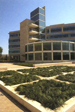 The E.P.A. facility in Research Triangle Park, circa 2008. Image from the Enviromental Protection Agency.