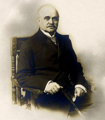 Edward Jones Hale, editor and owner of The Fayetteville Observer. Image from the North Carolina Museum of History.