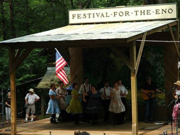 Festival for the Eno. Image courtesy of Flickr user Jeri Gloege.