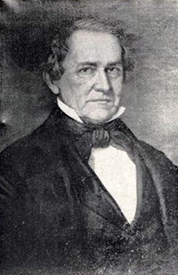 Photograph of a a portrait of Robert Strange. Image from the North Carolina Museum of History.