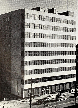The Jefferson Standard-Union National Bank Building, Charlotte, 1955. Image from the North Carolina Digital Collections.