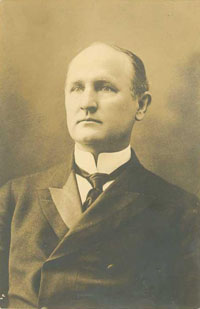Photograph of governor Charles Brantley Aycock. Image from North Carolina Historic Sites.