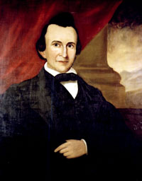 Painting of David Settle Reid. Image from the State Archives of North Carolina.