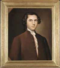 Painting of Edward Hyde, 1977. Image from the North Carolina Museum of History.