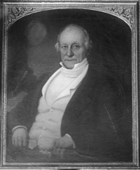 Portrait of James Iredell, Jr. Image from the North Carolina State Archives.