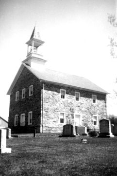 Grace (Lowerstone) Evangelical and Reformed Church, Rowan County, NC.   Image courtesy of North Carolina State University Libraries.
