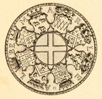 Seal of the government of Albemarle and Province of North Carolina 166? to 1730. Image from the North Carolina Digital Collections.