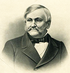 Lithograph print of John H. Wheeler. Image from the North Carolina Museum of History.