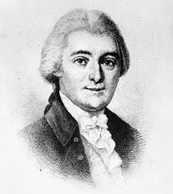 William Blount (1749-1800), signer of the U.S. Constitution. Image from the North Carolina Museum of History.