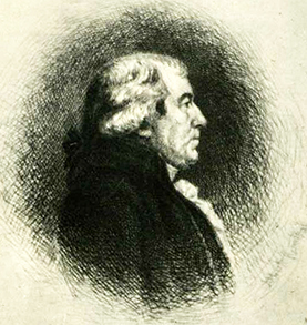 Engraving of James Iredell Senior. Image from the North Carolina Museum of History.