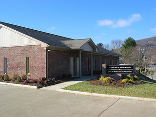 Kingdom Hall of Jehovah's Witnesses, West Asheville. Image courtesy of Flickr user Michael Sprague.