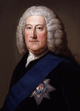 Portrait of John Carteret, 2nd Earl Granville by William Hoare, circa 1750-1752. Image from the Wikimedia Commons.
