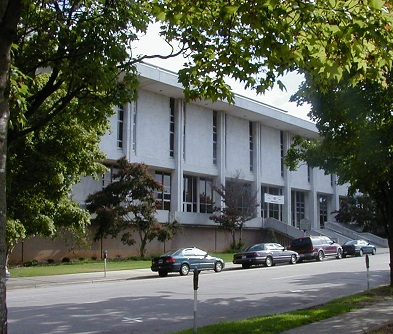 State Library of North Carolina viewed from across the street, 2006.