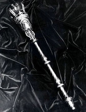 Mace of the South Carolina House of Respresentatives. Image courtesy of the South Carolina Encyclopedia.