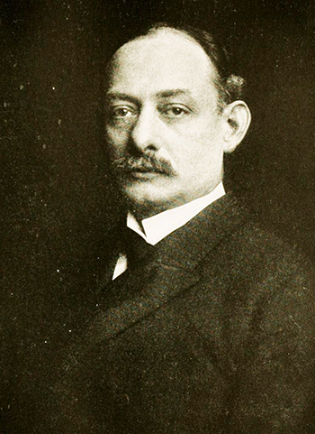 Photograph of Walter H. Page, 1899. Image from Archive.org.