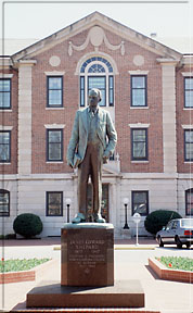 James Shepard statue at NCCU. Image courtesy of NC Office of Archives & History.