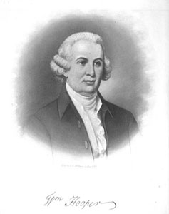 William Hooper.  Image courtesy of North Carolina State Archives. Call no. N_75_6_297.