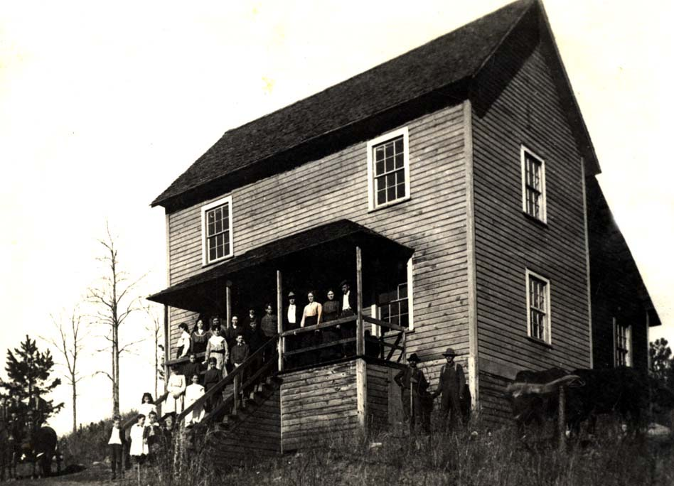 Oberlin Home and School, circa 1885. Image courtesy of Pfeiffer University.