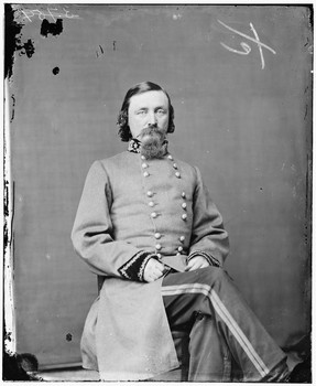 Gen. George E. Pickett, C.S.A.. Courtesy of Library of Congress.