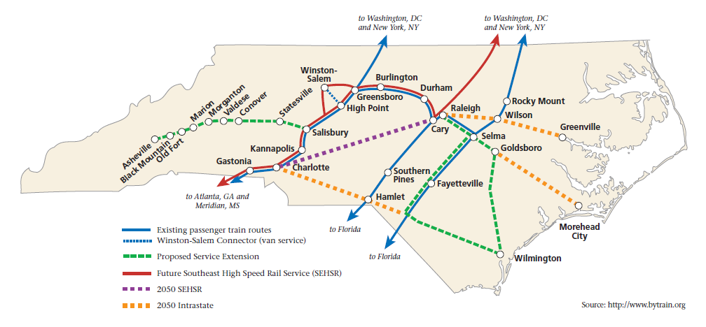 Transportation Air and Rail from NC Atlas Revisited NCpedia