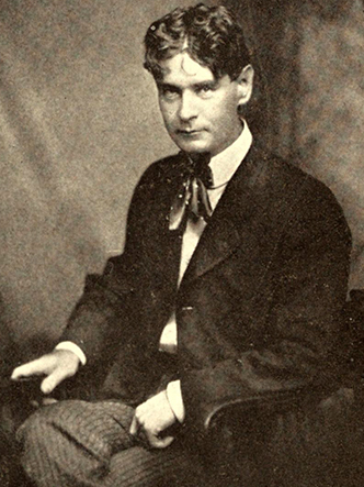 Photograph of John Charles McNeill, circa 1907. Image from Archive.org/University of California Libraries.
