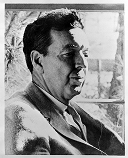 Randall Jarrell (1914-1965). Image courtesy of the State Archives of North Carolina, call no. N_65_9_2.