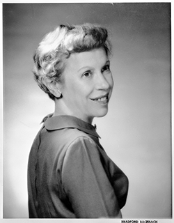 Helen Smith Bevington (1906-2001). Image courtesy of the State Archives of North Carolina, call no. N_65_9_8 .