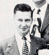William S. Powell in a staff photograph for the North Carolina Department of Archives and History, circa 1948-1950. Image from State Library of North Carolina/Archive.org.