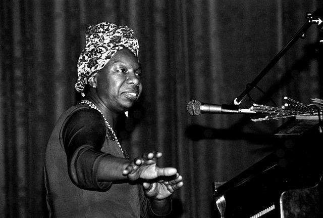 Photograph of Nina Simone