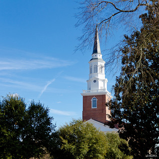 Southeastern Baptist Theological Seminary, Wake Forest University. Image courtesy of Flickr user Doug Hull.