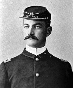 Lt. William E. Shipp (1861-1898) of Lincolnton, N.C. Image from Google Books.