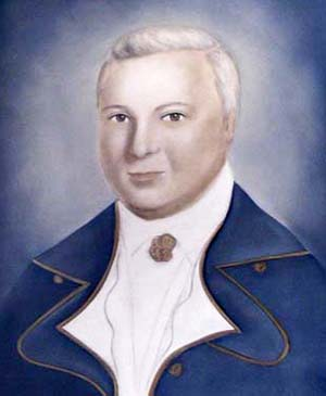 Stephen Cabarrus (1754–1808), Speaker of the Assembly. Image from NC ECHO.