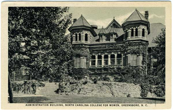 North Carolina College for Women. Image courtesy of UNC Libraries.