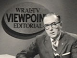 Jesse Helms on WRAL-TV. Image from UNC-TV.