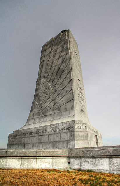 """Wright Brother's Memorial 2"" by Flickr user Serithian."