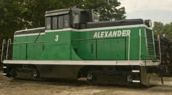 Image available from the Alexander Railroad Company.