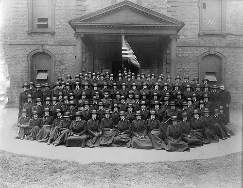 Army Nurses, Base 65, World War I.