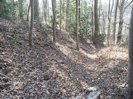 Site of Battle of Asheville. Courtesy of NC Markers, North Carolina  Office of Archives & History.