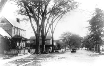Main Street in Bath, Facing South, Thomas R. Draper Photos, early 20th century. Image courtesy of NC Historic Sites.