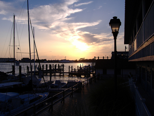 Beaufort Waterfront. Image courtesy of Flickr user Jay Cuthrell.