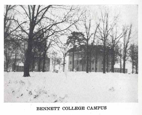 Bennett College, circa 1922. Photo courtesy of UNC's DocSouth.